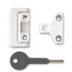 Chubb Aluminium 8K106 Window Lock